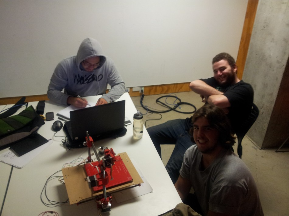 Part of RMIT Printrbot Team